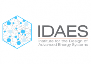 idaes logo white